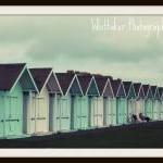 Beach Huts - 8x10 fine art ..